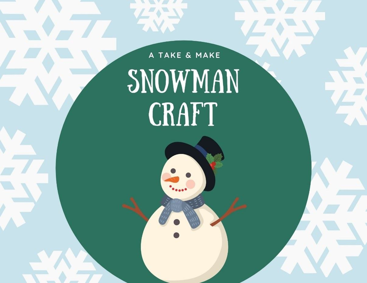 Snowman January Craft Image