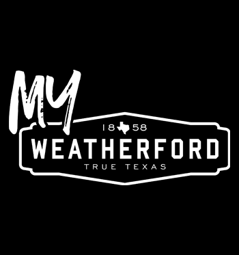 MyWeatherford logo and black background - News Carousel