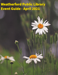 April 2021 Event Guide Image - Click to view guide.