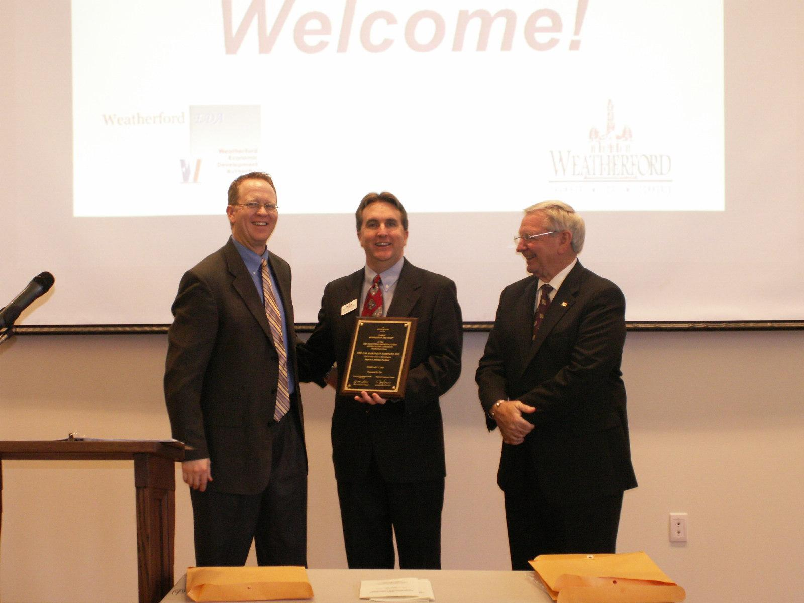 Large Business of the Year Recipient, Stephen E. Milliken