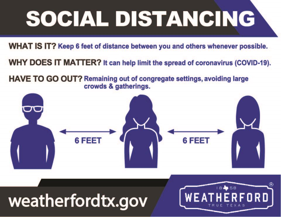 Social Distancing Weatherford
