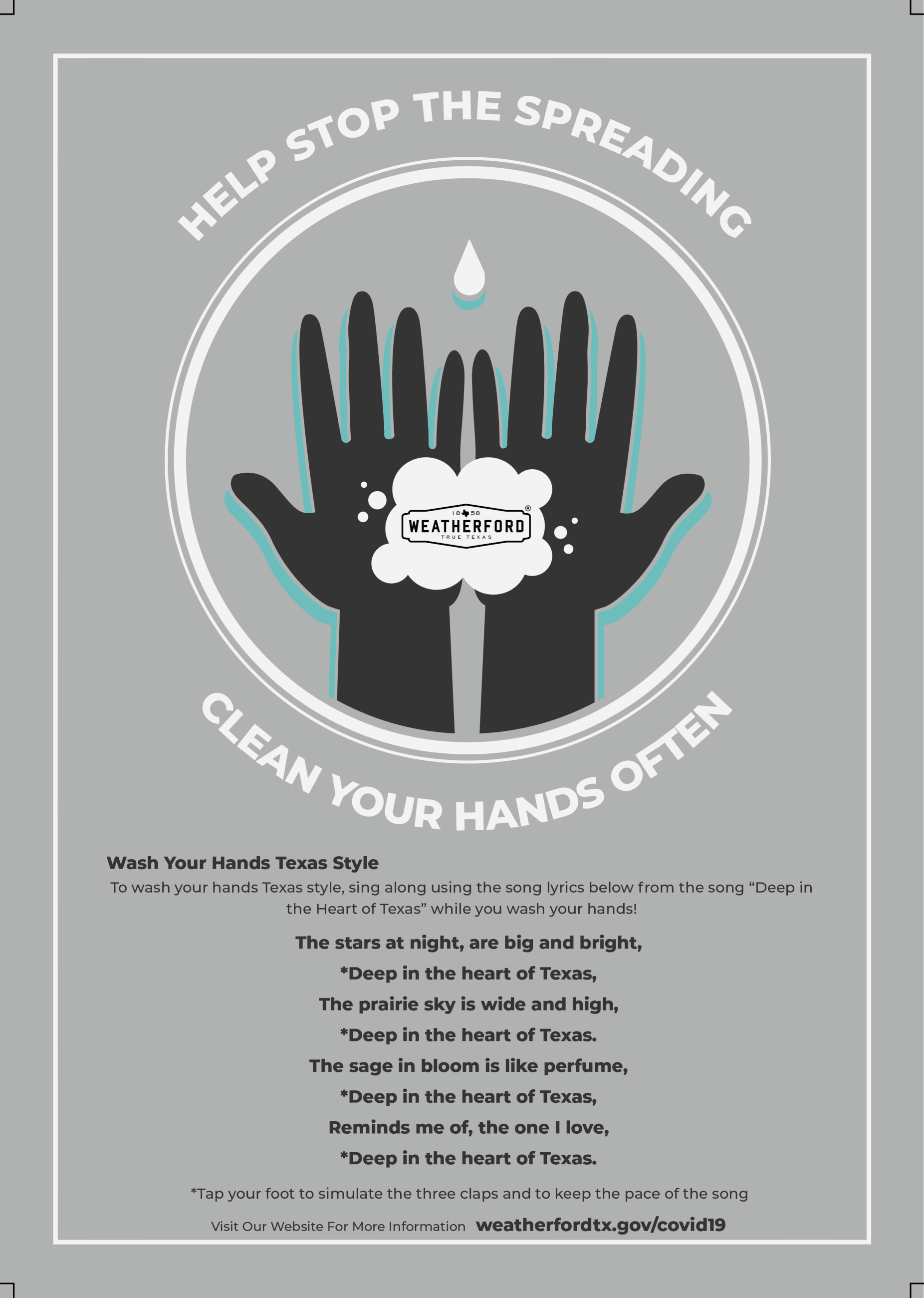 How to Protect Yourself - Handwashing - COVID-19 Deep in the heart of Texas