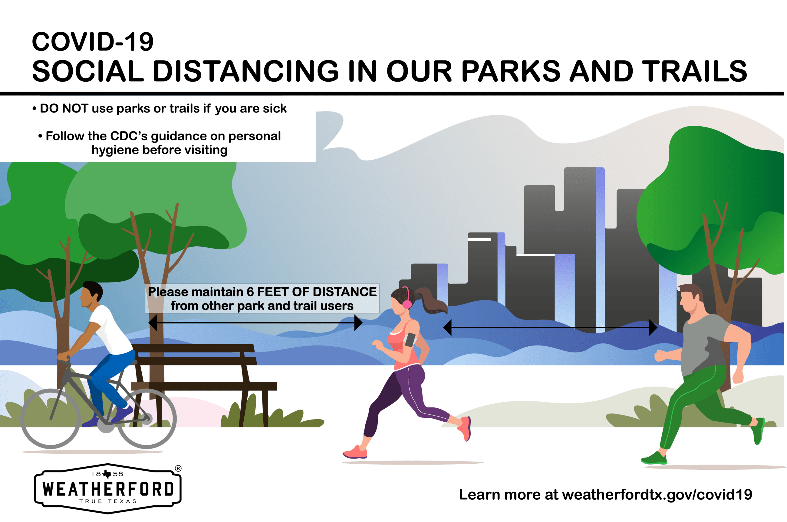 Social Distancing in Parks and on Trails