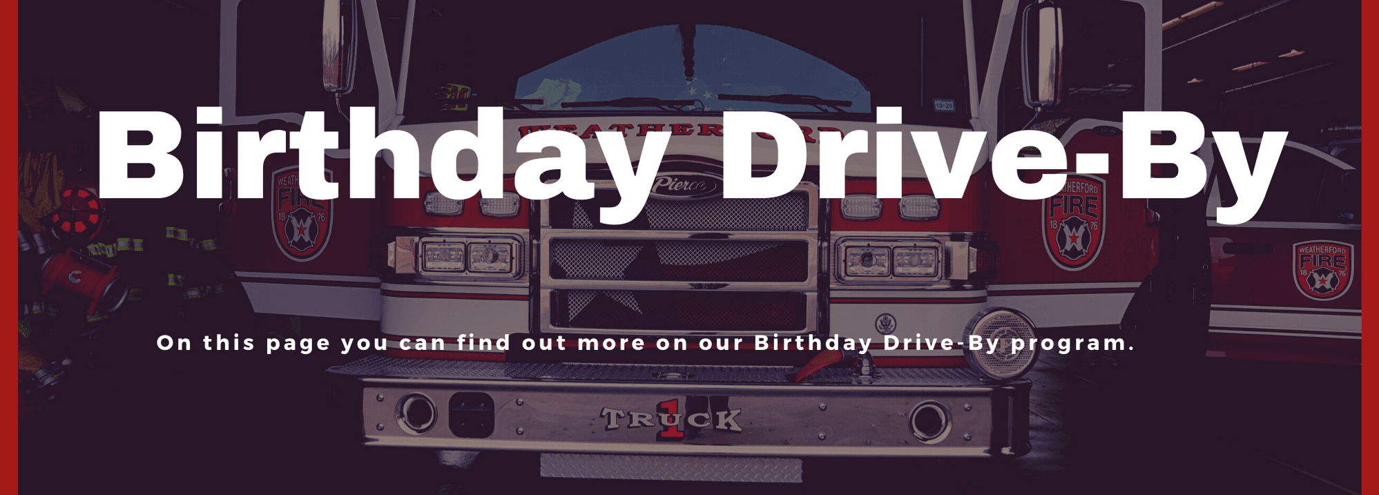 FD Drive By Program website Banner