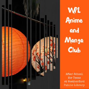 WPL Anime and Manga Club Graphic