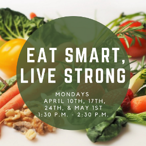 Eat Smart, Live Strong Graphic