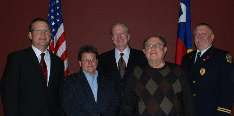 Weatherford City Council Members on May 24, 2011